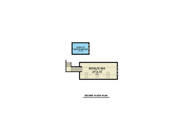 Farmhouse Floor Plan - Upper Floor Plan #1070-118