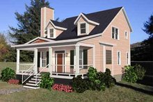Country Exterior - Front Elevation Plan #79-205