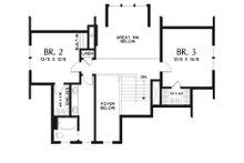 Farmhouse Floor Plan - Upper Floor Plan Plan #48-940