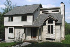 Modern Exterior - Front Elevation Plan #75-169