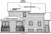 Farmhouse Style House Plan - 4 Beds 2.5 Baths 2099 Sq/Ft Plan #23-2008 Exterior - Rear Elevation