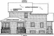House Plan Design - Farmhouse Exterior - Rear Elevation Plan #23-2008