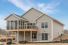Dream House Plan - Ranch Exterior - Rear Elevation Plan #70-1497
