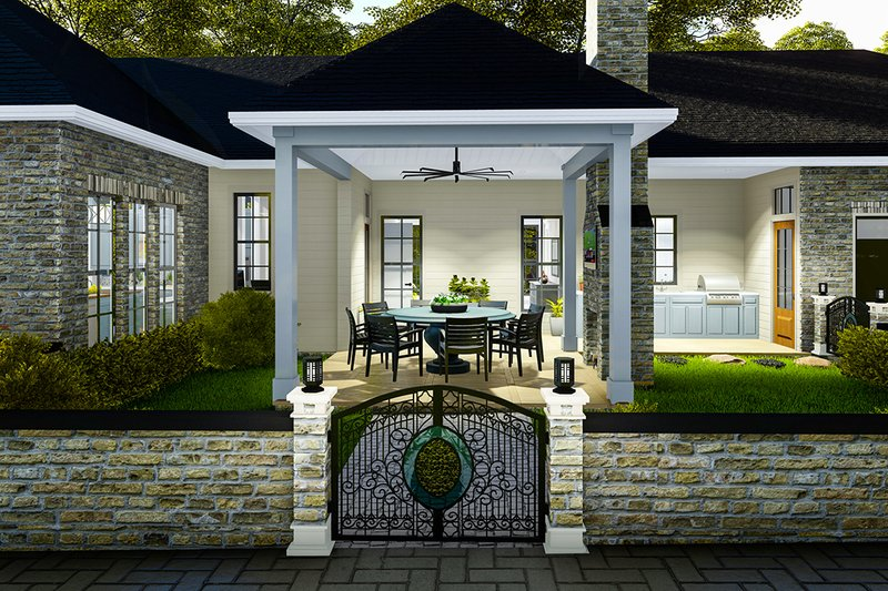 Architectural House Design - Outdoor Room