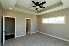 Ranch Interior - Master Bedroom Plan #70-1458