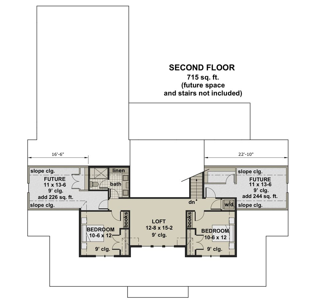 Pleasing Farmhouse Style House Plan 4 Beds 4 5 Baths 2743 Sq Ft Interior Design Ideas Grebswwsoteloinfo