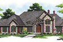 Dream House Plan - European Exterior - Other Elevation Plan #70-559