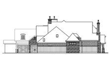 Craftsman Exterior - Other Elevation Plan #124-703