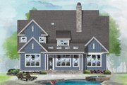 Craftsman Style House Plan - 3 Beds 2.5 Baths 2118 Sq/Ft Plan #929-1082 Exterior - Rear Elevation