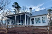 Farmhouse Style House Plan - 3 Beds 3.5 Baths 2741 Sq/Ft Plan #437-97 Exterior - Rear Elevation