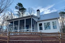 Home Plan - Farmhouse Exterior - Rear Elevation Plan #437-97