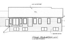 Traditional Exterior - Rear Elevation Plan #58-179