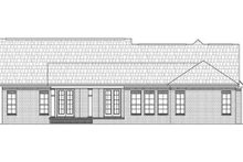 European Exterior - Rear Elevation Plan #21-268