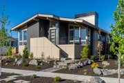 Modern Style House Plan - 3 Beds 2 Baths 1887 Sq/Ft Plan #895-110 Exterior - Front Elevation