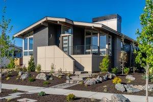 Modern Exterior - Front Elevation Plan #895-110