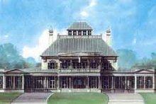 House Plan Design - European Exterior - Front Elevation Plan #119-184