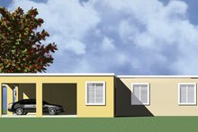 Modern Exterior - Other Elevation Plan #495-1
