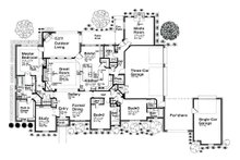 European style Plan 310-685 main floor