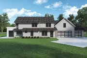 Farmhouse Style House Plan - 5 Beds 3.5 Baths 2767 Sq/Ft Plan #1070-133 Exterior - Rear Elevation