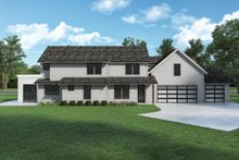 House Design - Farmhouse Exterior - Rear Elevation Plan #1070-133