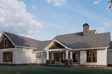 Dream House Plan - Farmhouse Exterior - Other Elevation Plan #923-197