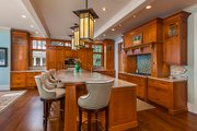 Craftsman Style House Plan - 3 Beds 4 Baths 4444 Sq/Ft Plan #928-305 Interior - Kitchen