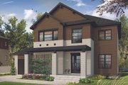 Craftsman Style House Plan - 4 Beds 3 Baths 2038 Sq/Ft Plan #23-2659 Exterior - Front Elevation