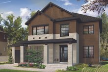 Craftsman Exterior - Front Elevation Plan #23-2659