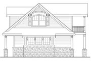 Country Style House Plan - 3 Beds 3.5 Baths 4568 Sq/Ft Plan #124-967 Exterior - Other Elevation