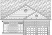 Colonial Style House Plan - 4 Beds 3 Baths 2922 Sq/Ft Plan #119-208 Exterior - Rear Elevation