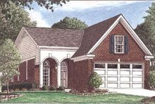 House Plan Design - Southern Exterior - Front Elevation Plan #34-139