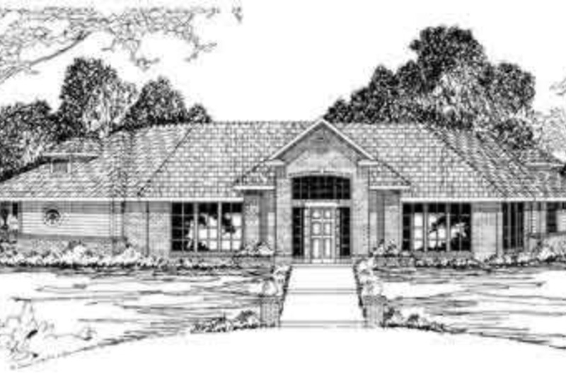 Modern Exterior - Front Elevation Plan #124-281