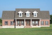 Colonial Style House Plan - 4 Beds 2.5 Baths 2603 Sq/Ft Plan #17-2068 Photo