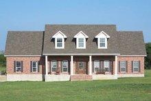 House Design - Colonial Photo Plan #17-2068