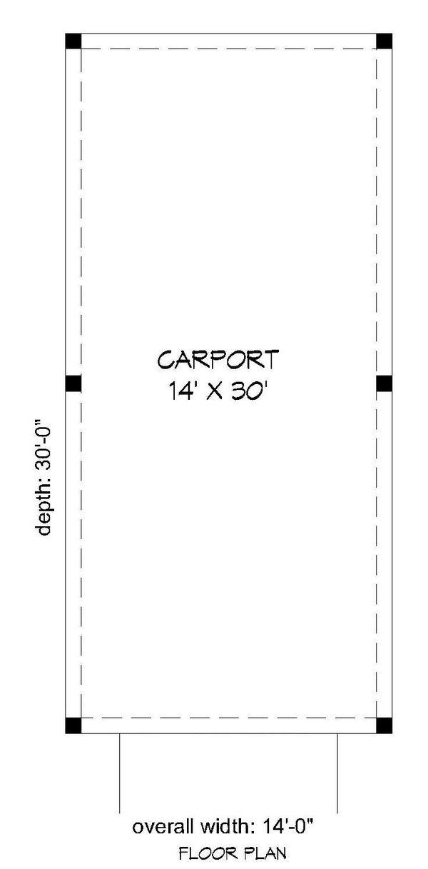 Country Floor Plan - Main Floor Plan Plan #932-227