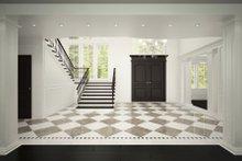 Classical Interior - Entry Plan #1066-29