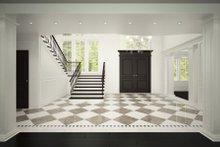 Architectural House Design - Classical Interior - Entry Plan #1066-29
