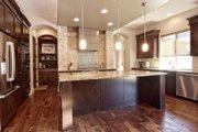 Mediterranean Style House Plan - 5 Beds 4 Baths 3585 Sq/Ft Plan #80-221 Interior - Kitchen