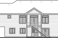 House Design - Farmhouse Exterior - Rear Elevation Plan #1073-17