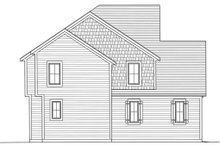 Dream House Plan - Craftsman Exterior - Other Elevation Plan #46-470