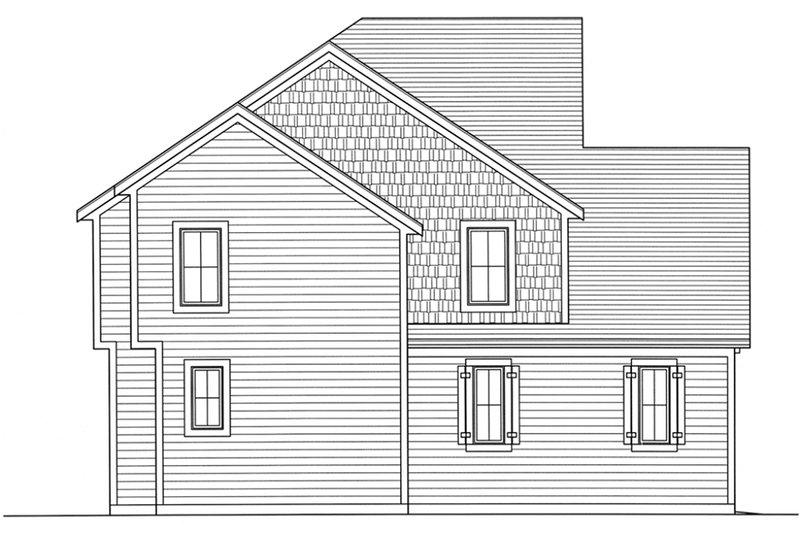 Craftsman Exterior - Other Elevation Plan #46-470 - Houseplans.com