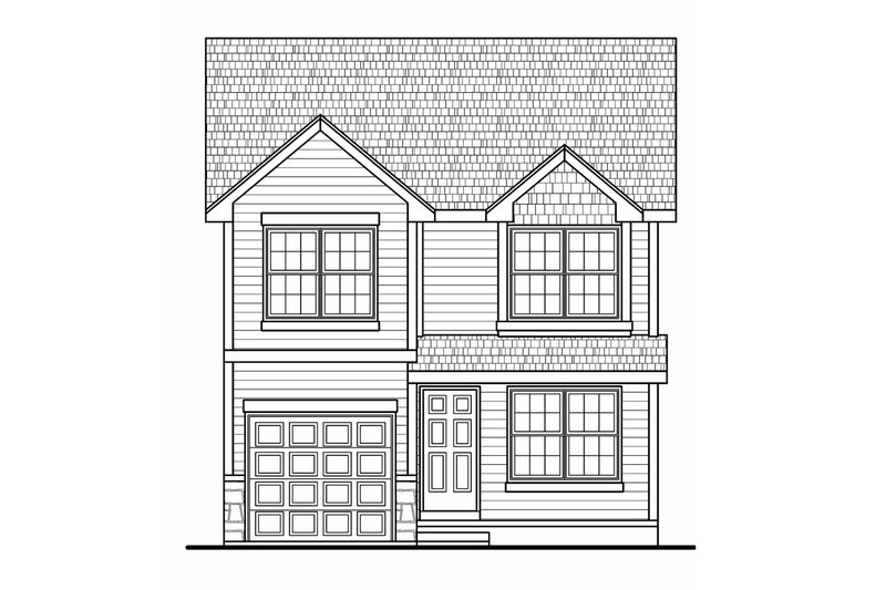 Traditional Exterior - Front Elevation Plan #20-2177 - Houseplans.com