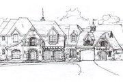 European Style House Plan - 6 Beds 7.5 Baths 9772 Sq/Ft Plan #141-279