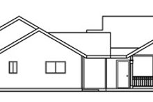 Traditional Exterior - Other Elevation Plan #124-353