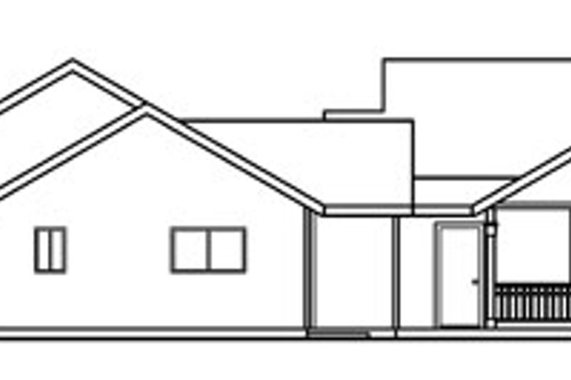Traditional Exterior - Other Elevation Plan #124-353 - Houseplans.com