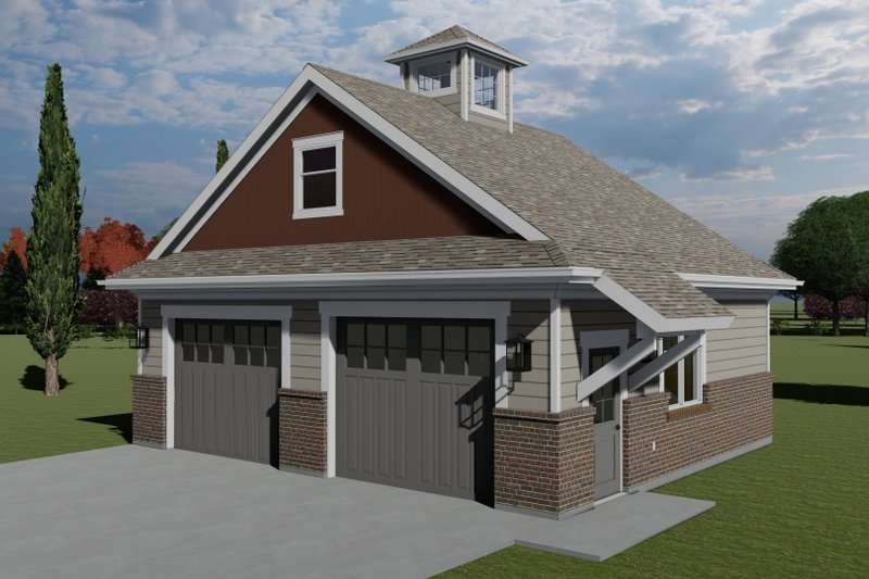 House Plan Design - Traditional Exterior - Front Elevation Plan #1060-98