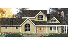 Home Plan - European Exterior - Front Elevation Plan #3-210