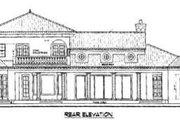 Mediterranean Style House Plan - 3 Beds 2.5 Baths 3012 Sq/Ft Plan #76-112