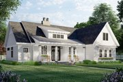 Farmhouse Style House Plan - 3 Beds 2 Baths 2112 Sq/Ft Plan #51-1169 Exterior - Front Elevation