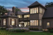 Traditional Style House Plan - 4 Beds 3.5 Baths 4311 Sq/Ft Plan #48-244 Exterior - Other Elevation